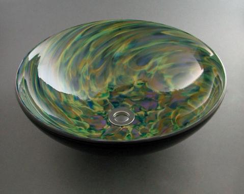 Blown Glass Sink - Confetti