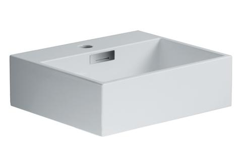 """Quarelo 16.5"""" Italian White Ceramic Sink"""