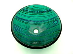 Picture of Emerald Tapestry Vessel Sink
