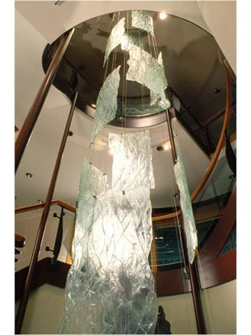 Old Growth Glass Sculpture