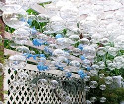 Picture of Ocean Motion Garden Art Blown Glass Arrangement