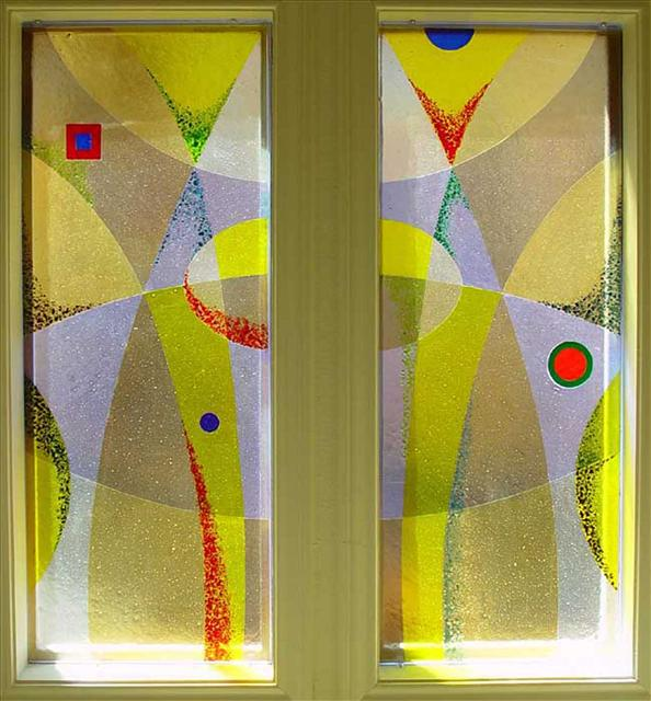 Picture of Yellow Frit Window