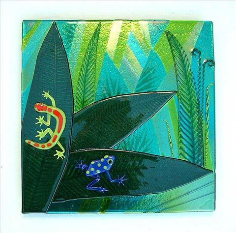 Glass Reptile Panel