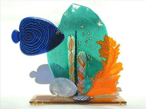 Coral Glass Sculpture