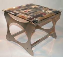 Picture of Retro Martini End Table