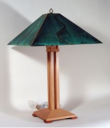 Picture of Auburn Pyramid Table Lamp