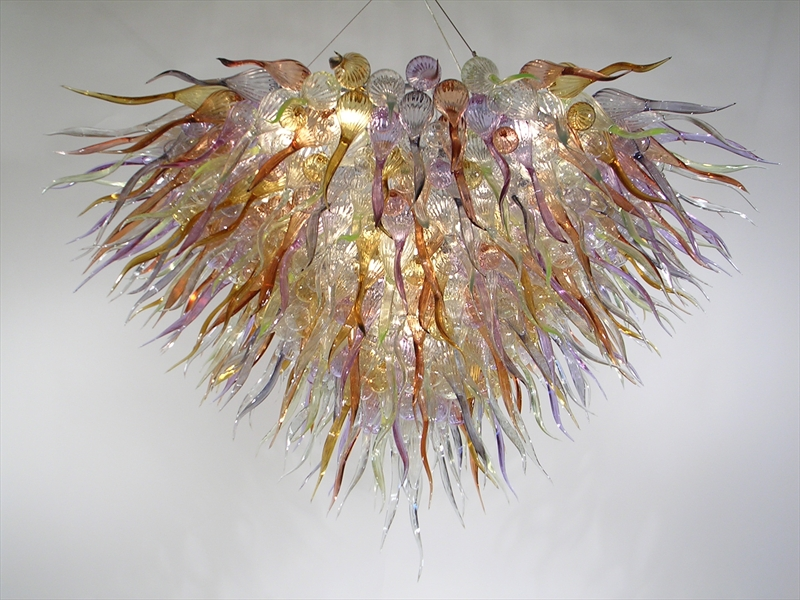 Picture of Blown Glass Chandelier 283