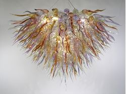 Blown Glass Chandelier 283