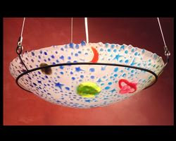 Picture of Blue Celestial Pendant Light