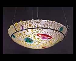 Picture of Yellow Celestial Pendant Light