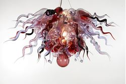 Picture of Blown Glass Chandelier 510