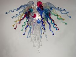 Picture of Blown Glass Chandelier 452