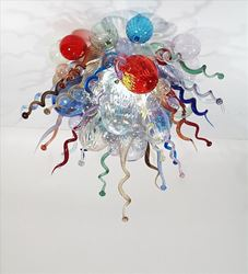 Picture of Blown Glass Chandelier 508