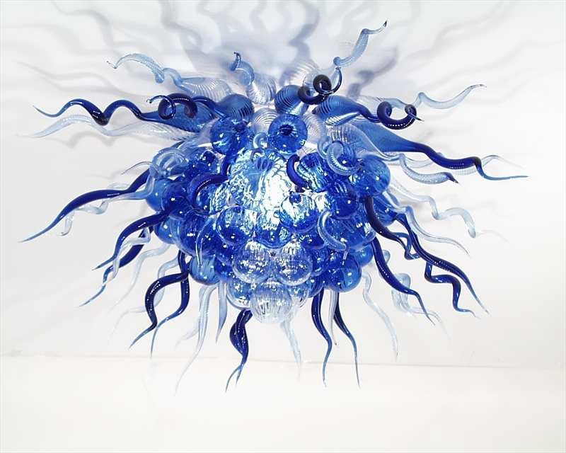 Picture of Blown Glass Chandelier 222