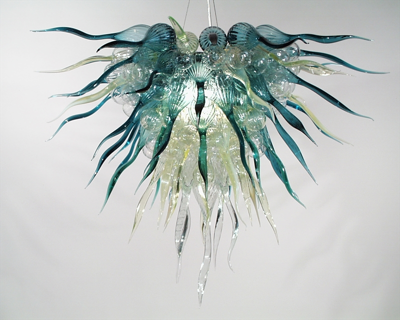 Picture of Blown Glass Chandelier 227