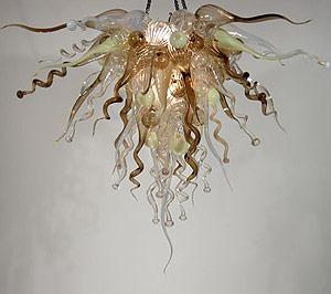 Picture of Blown Glass Chandelier 400