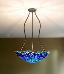 Blown Glass Chandelier - Tripod