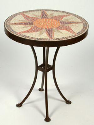 Picture of Sunburst Accent Table