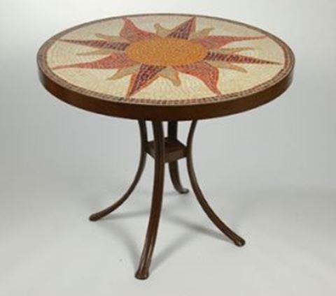 Sunburst Dining Table