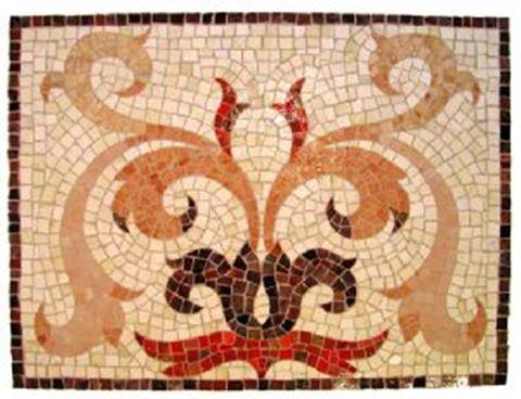Tuscan Flower Mosaic