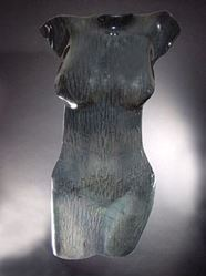 Picture of Nightlife Glass Torso Sculpture