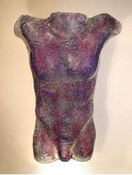 Picture of Passion Glass Male Torso Sculpture
