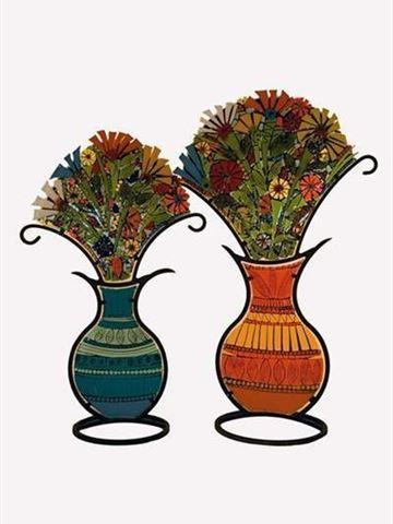 Glass Bouquets Sculpture