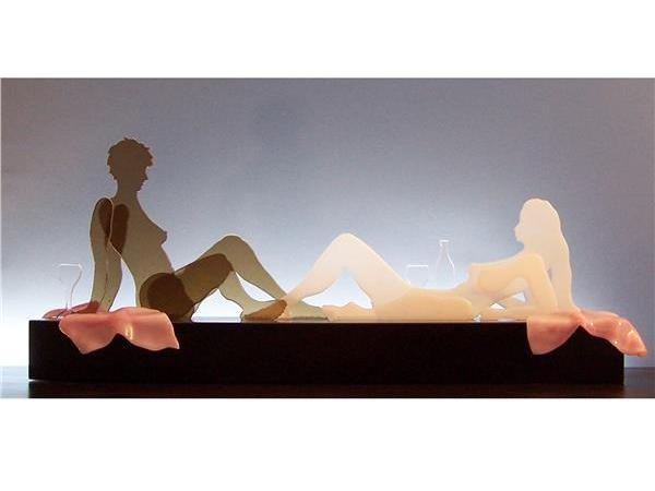Picture of Chenin Blanc Glasscape Lighting Sculpture