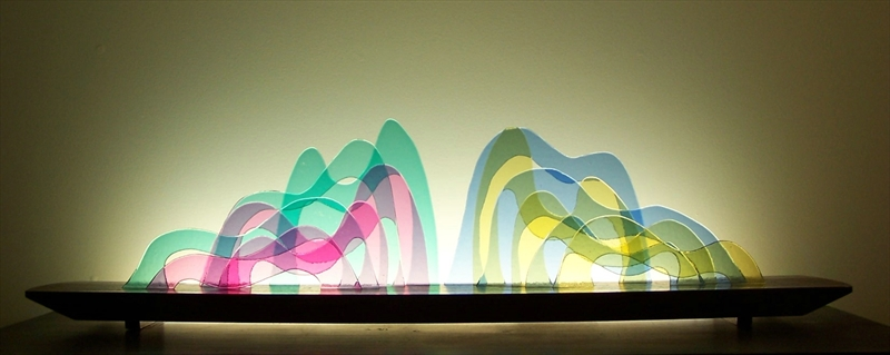 Picture of Seuss Glasscape Lighting Sculpture