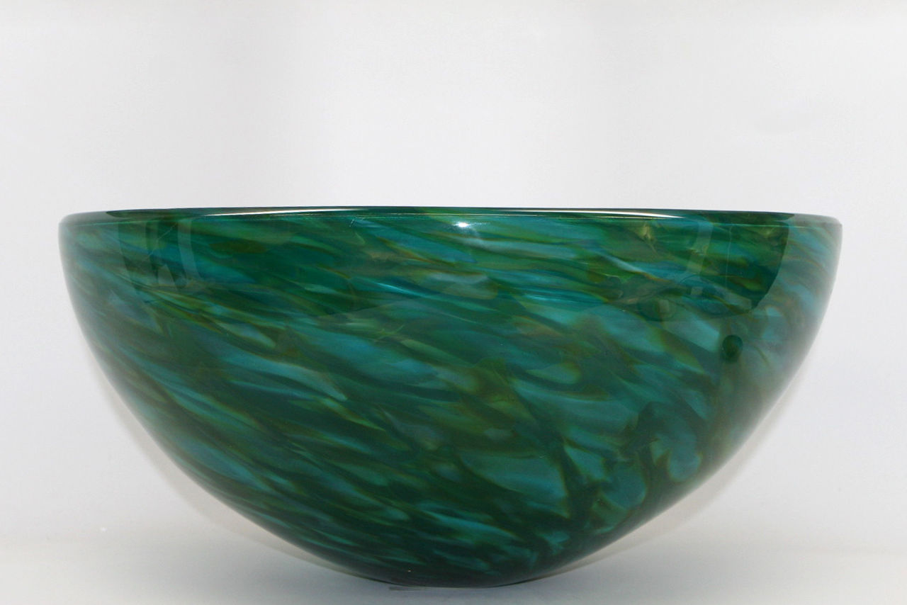 Picture of Blown Glass Sink - Morning Radiance