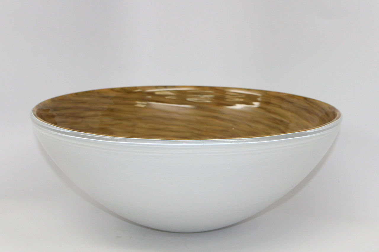 Picture of Blown Glass Sink - Maple Whirl
