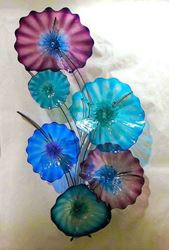 Picture of Blown Glass Wall Sculpture - Carolina Tree
