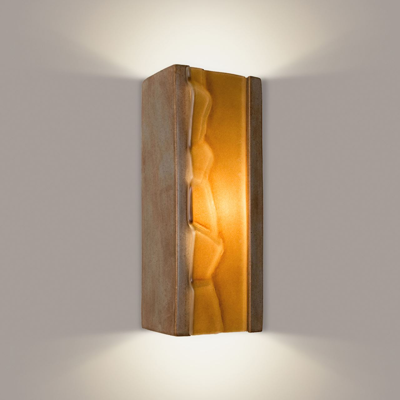Picture of A19 Wall Sconce | River Rock