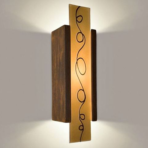 A19 Wall Sconce | Squiggle