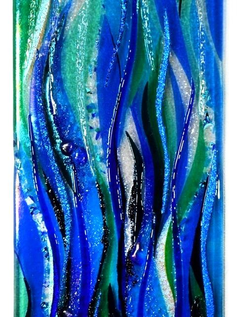Picture of Deep Sea Mystery Glass Wall Panel