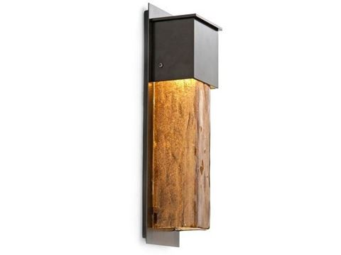 Short Square Outdoor Cover Sconce