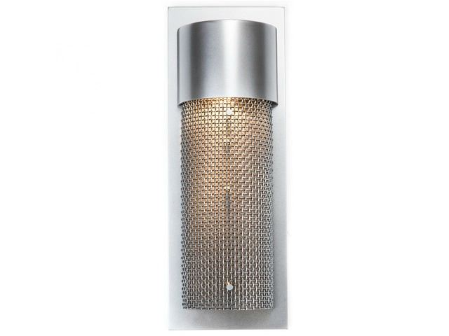 Picture of Short Round Mesh Outdoor Cover Sconce