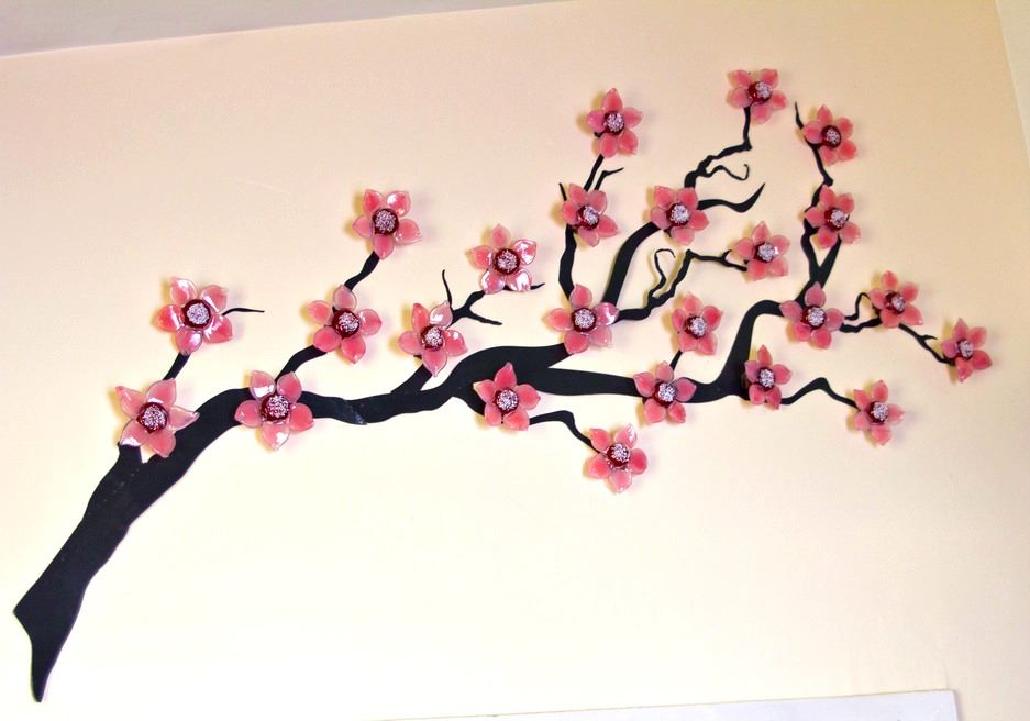 Picture of Cherry Blossoms Wall Sculpture