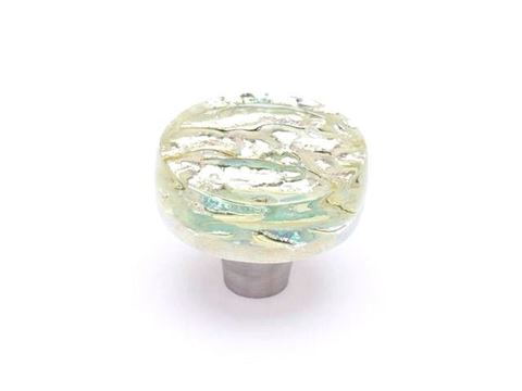 Pearl Glass Cabinet Knob - 7 color options