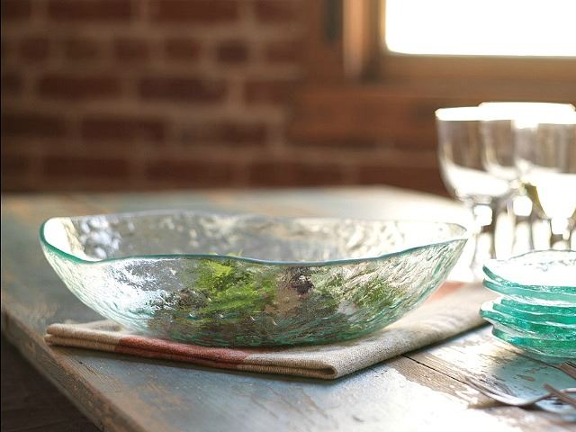 Picture of Salt Extra Large Glass Bowl