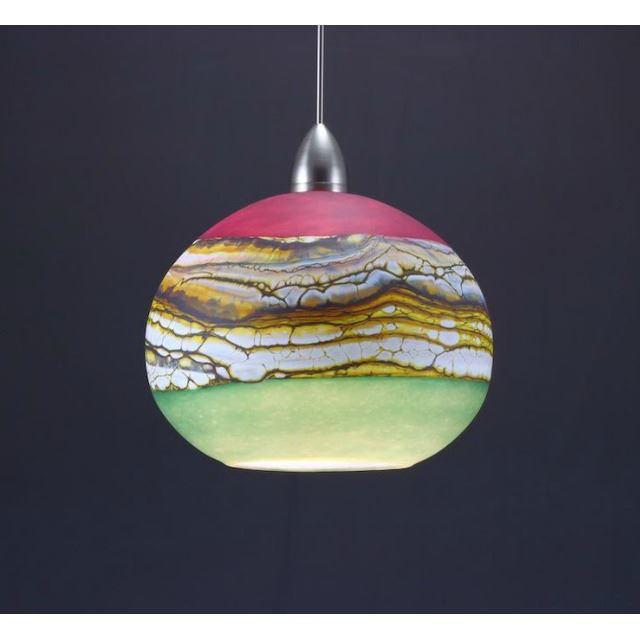 Picture of Blown Glass Pendant Light | Strata AS