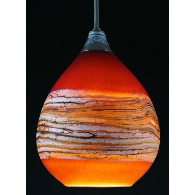 Picture of Blown Glass Pendant Light | Strata RT