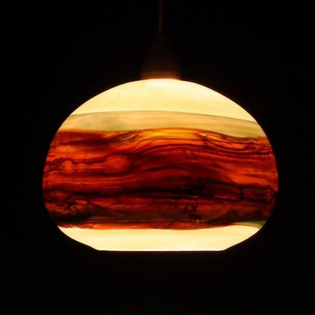 Picture of Blown Glass Pendant Light   Strata OS
