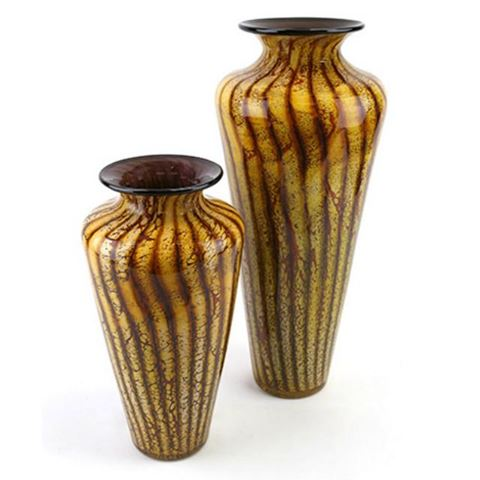 Blown Glass Vase | Batik