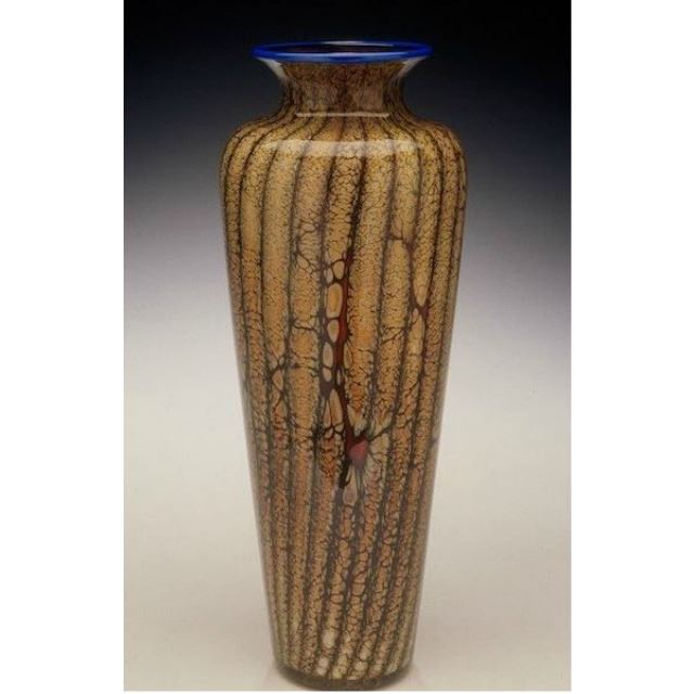 Picture of Blown Glass Vase | Batik