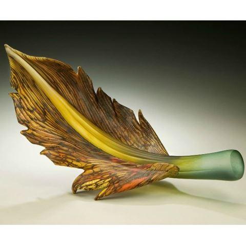 Blown Glass Arbors | Sage Topaz