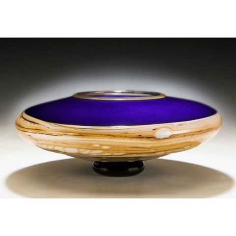 Strata Footed Bowl
