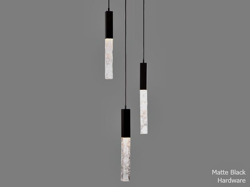 Picture of Axis Round Multi-Port Chandelier 3 pc