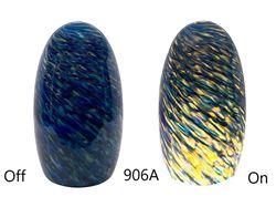 Picture of Blown Glass Pendant Light | Blue Sunshine