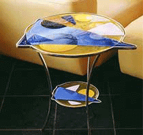 Handcrafted Glass Artist Furniture